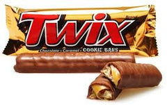 Twix Caramel Cookie Bar 2oz 36 Count