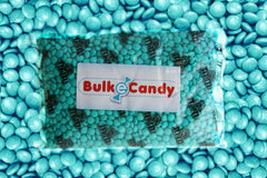 Bulk Aqua Green M&M's 5lbs mandms ColorWorks mymms