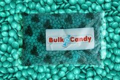 Bulk Teal Green M&M's 5lbs mandms ColorWorks mymms