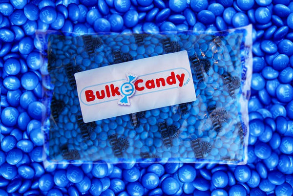 Bulk Blue M&M's 10LB mandms ColorWorks mymms