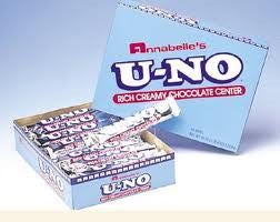 U-No Candy Bars 24 Count