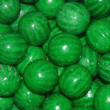 "Watermelon Gumballs 1"" 850 Count Bulk"