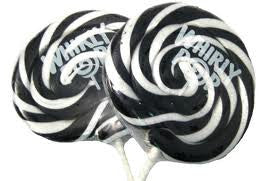 "Whirly Pops Black / White 3"" 1.5 Oz 60 Count"