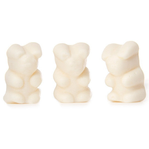 Gummi Bears White Strawberry/Banana 5LB Bulk
