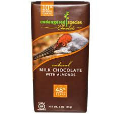 Milk Chocolate with Almond 3oz 12 Count