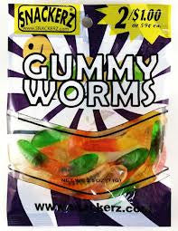Gummy Worms 2/$1 (12 Count)