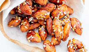 Maple Sesame Almonds