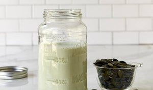 Pumpkin Seed Milk (unsweetened)