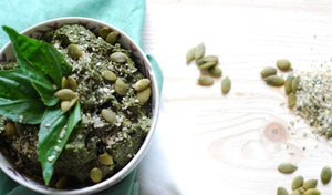 Pumpkin Hemp Pesto