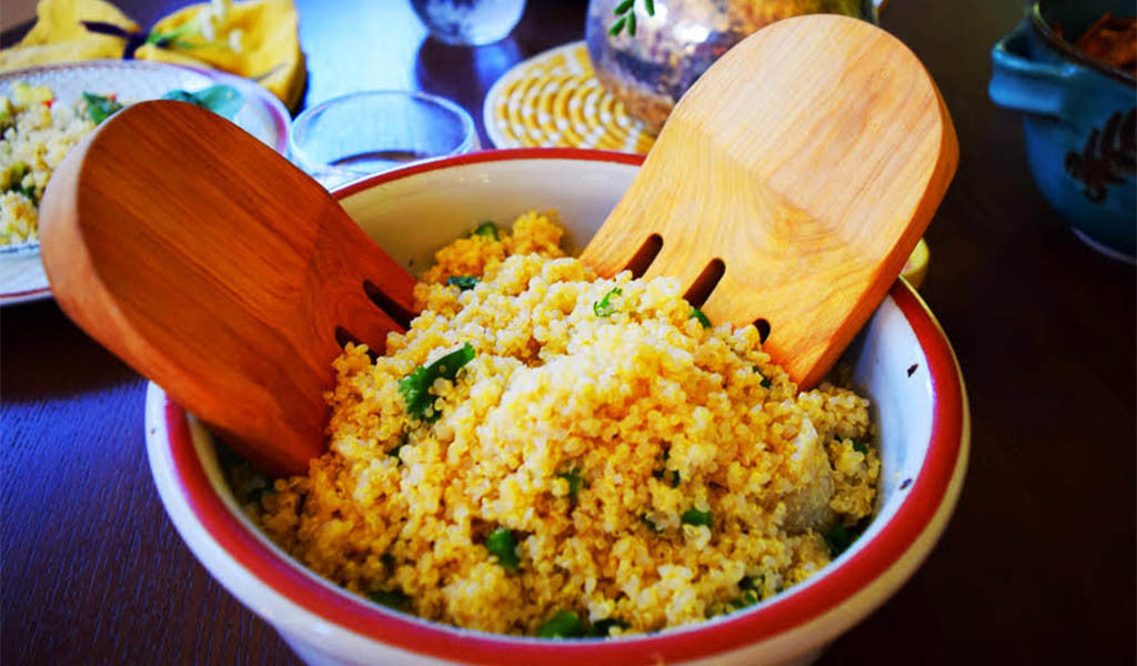 Spiced Up Quinoa