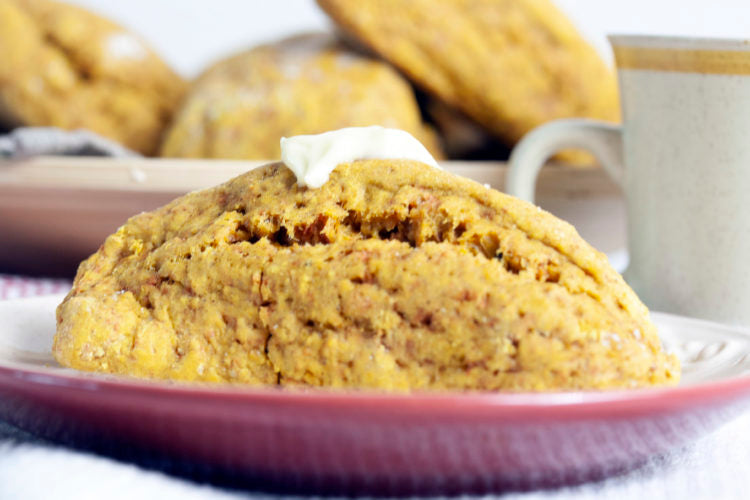 Golden Turmeric Scones