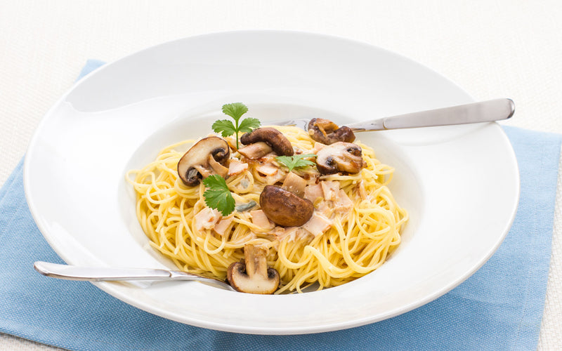 Green Monday with Healthworks-Vegan Spaghetti Carbonara