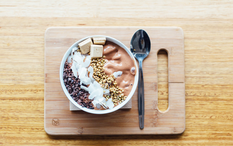 Quick and Healthy--5 minutes Breakfast Bowl Recipe