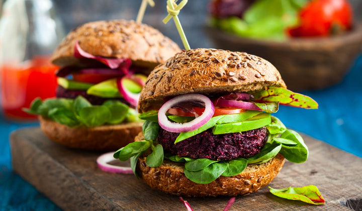 Hemp Seeds Yummy Burger