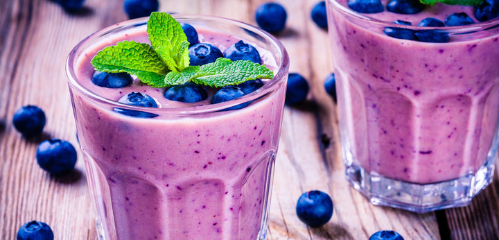 Low Carb Berry Cauliflower Smoothie