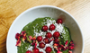 Chlorella Chia Pudding with Red Berries