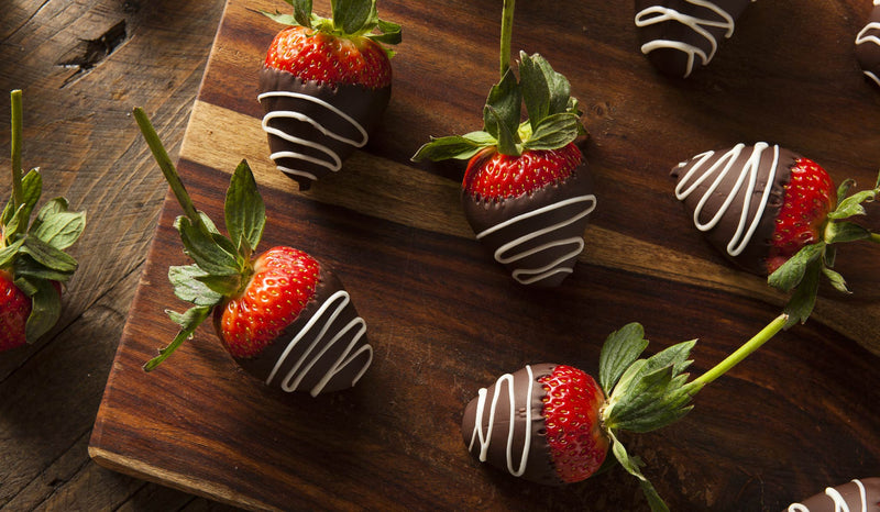 Antioxidant Chocolate Dipped Strawberries