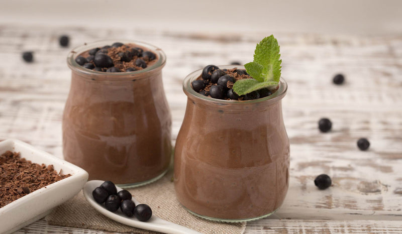 Creamy Chocolate-Mint Pudding