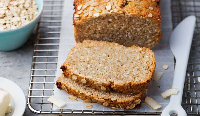 Bake Your Own Loaf--Low-carb Psyllium Husk Coconut Flour Bread