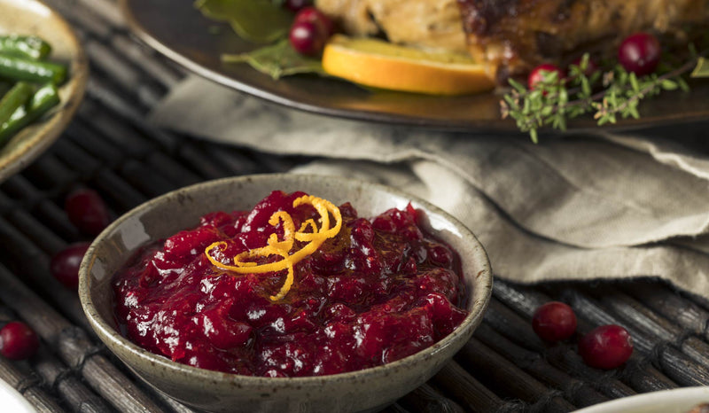 Superfood Goji-Cranberry Sauce