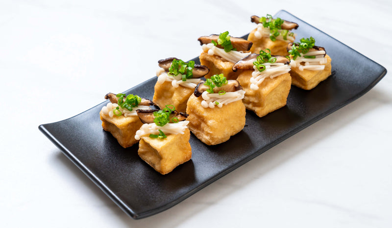 Vegan Dinner Idea-Golden Ginger Tofu
