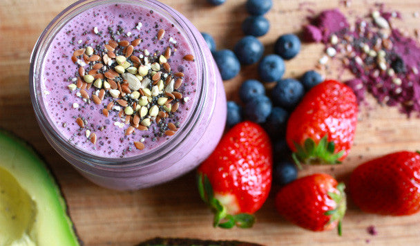 Maqui Berry Avocado Smoothie