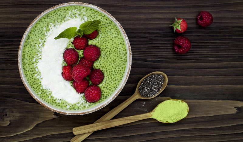 Breakfast revolution: Healthworks Matcha Chia Pudding