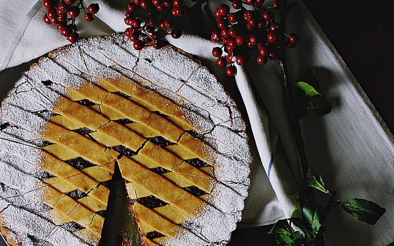 The Season To Be Jolly - Winter White-Mulberry Pie Recipe