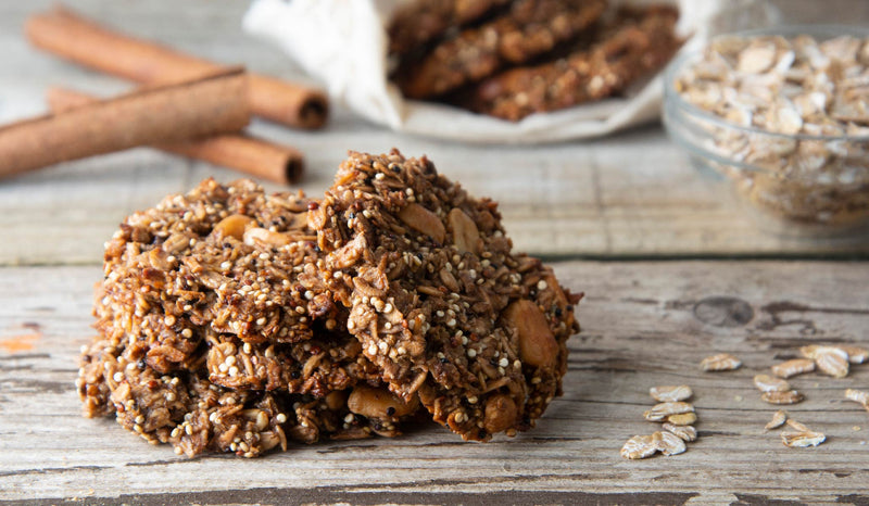 An Afternoon Treat - No Bake Chocolate Quinoa Cookies