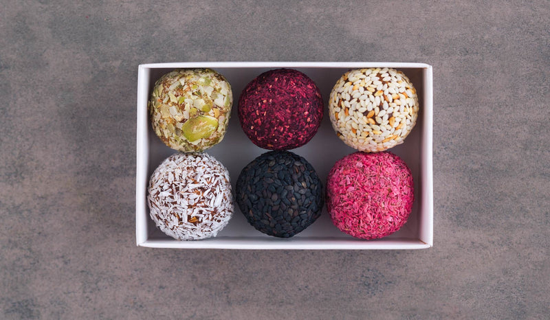 Colorful Superfood Easter Eggs