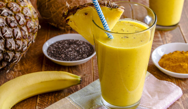 Refreshing Tropical Turmeric Smoothie