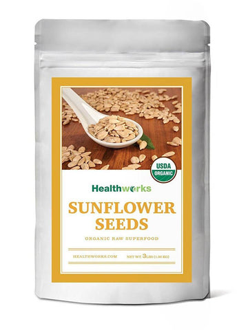 Organic Shelled Sunflower Seeds, 2lb - Healthworks Superfood Organic