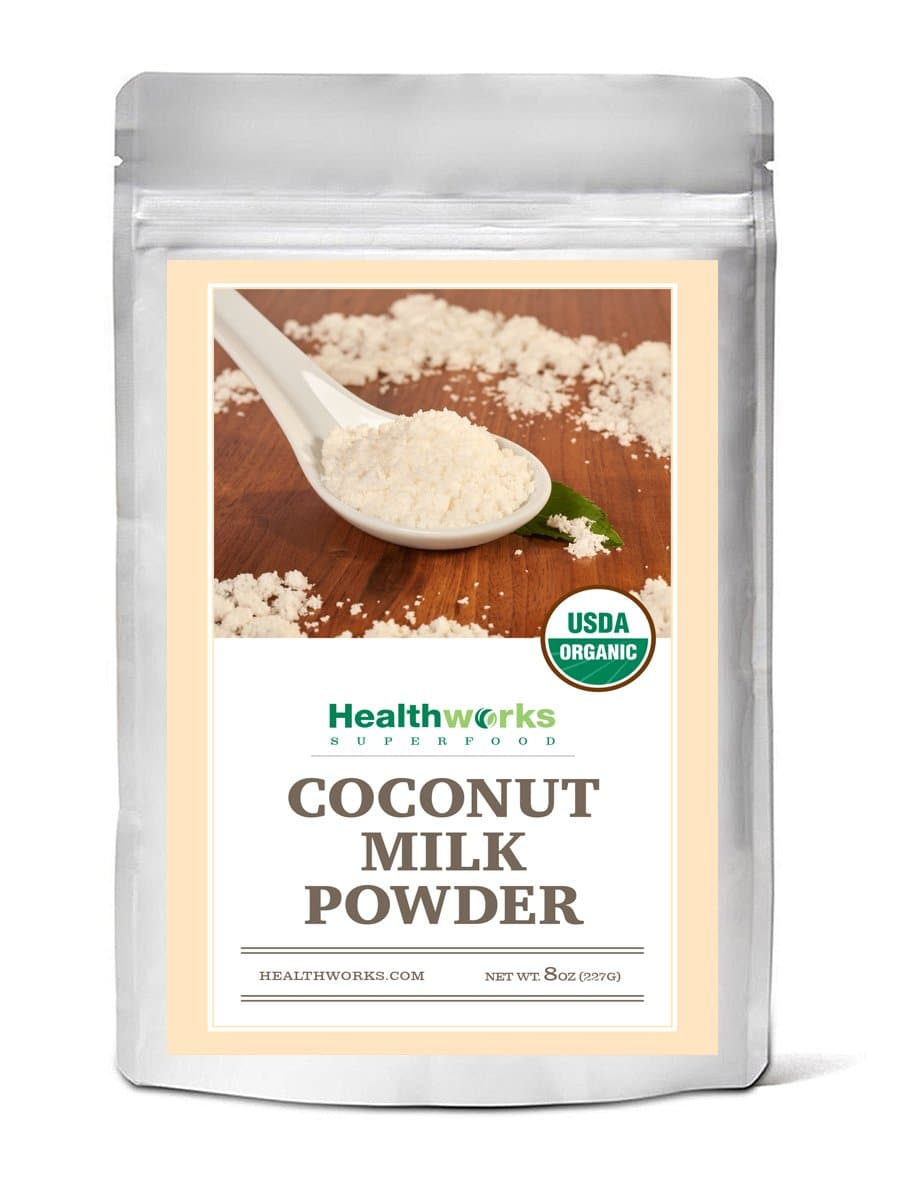 Healthworks Coconut Milk Powder Organic (Dairy Free), 8oz - Healthworks Superfood Organic