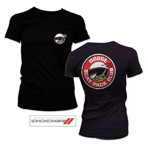 Dodge Scat Pack Girly Tee
