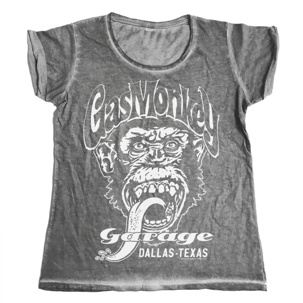 Gas Monkey Garage - Dallas. Texas Urban Girly Tee