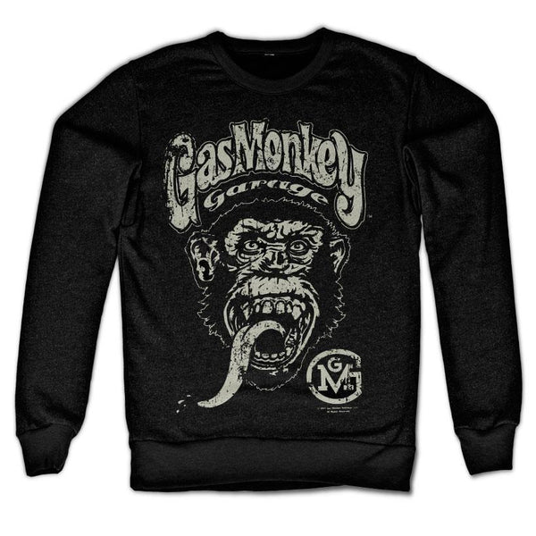 Gas Monkey Garage Big Brand Logo Sweatshirt
