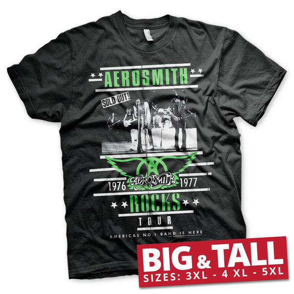 Aerosmith ROCKS Tour Big & Tall T-Shirt