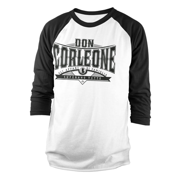 Don Corleone - Superano Tutto Baseball LS Tee