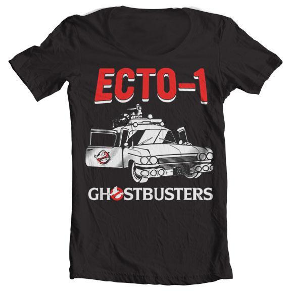 Ghostbusters - Ecto-1 Wide Neck Tee