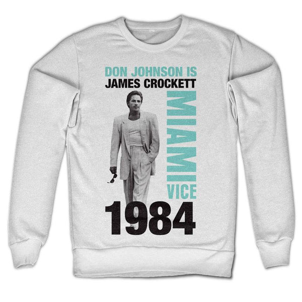 Don Johnson Is Crockett Sweatshirt