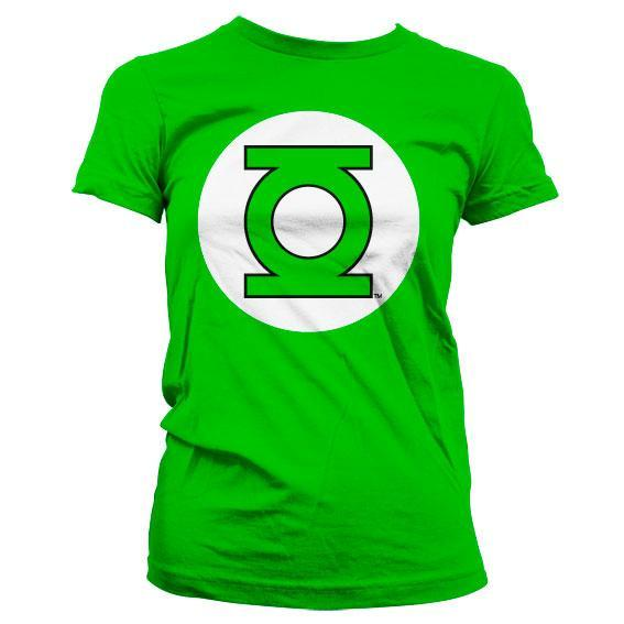 Green Lantern Logo Girly T-Shirt