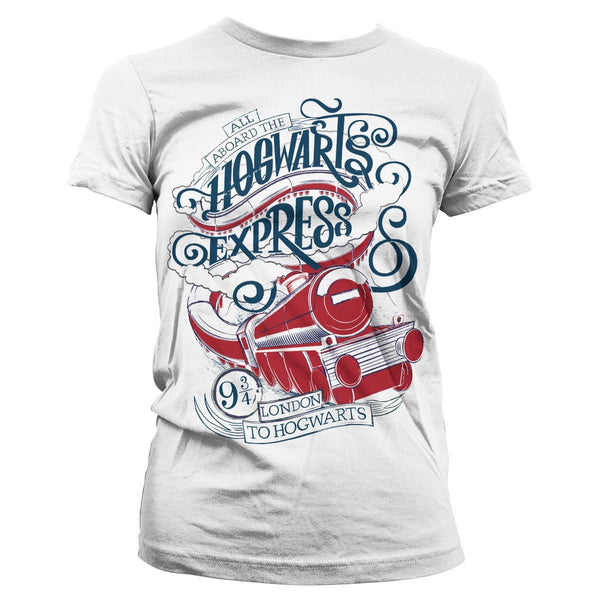All Aboard The Hogwarts Express Girly Tee