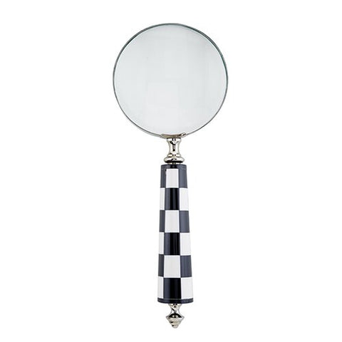 Magnifying Glass - Checkered Handle