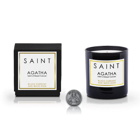 SAINT Candle • Agatha, Saint of Breast Cancer