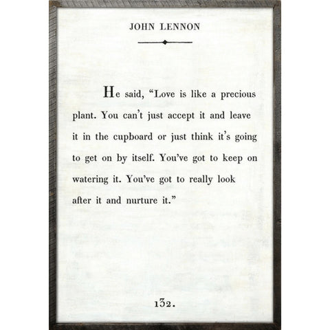 John Lennon - Book Collection Art Print