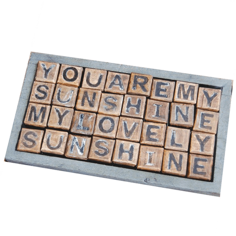 You are My Sunshine Blocks - 6 messages