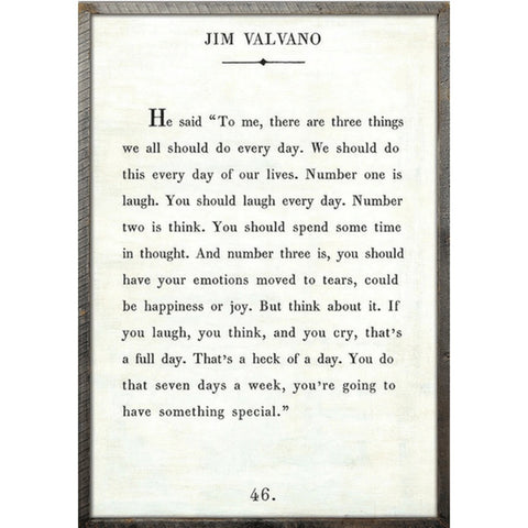 Jim Valvano - Book Collection Art Print