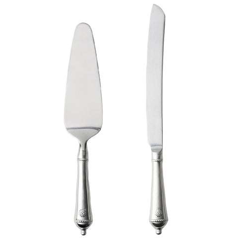 Berry & Thread Bright Satin Cake Knife/Server Set