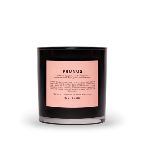 Boy Smells Candle, Prunus