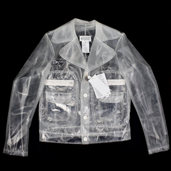 Maison Margiela - Transparent Clear PVC Jacket